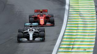 Riprende in Brasile il duello Mercedes-Ferrari
