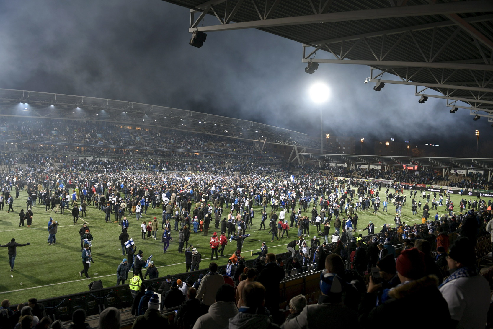 Con il 3-0 al Liechtenstein nel girone dell'Italia, la nazionale scandinava ha staccato il pass per Euro 2020. E' la prima storica qualificazione a un torneo maggiore per nazionali per la Finlandia