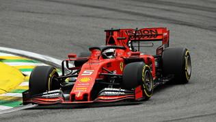 Le Ferrari dettano subito il passo con Vettel e Leclerc