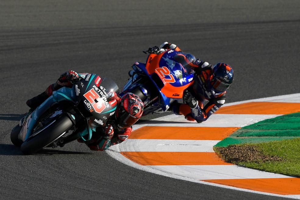 Il francese scatterà davanti a tutti a Valencia, nell'ultimo GP del 2019