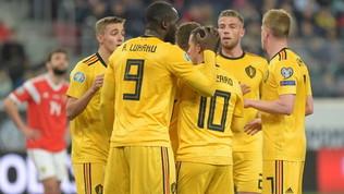 Lukakue i fratelli Hazard: il Belgio sa solo vincere
