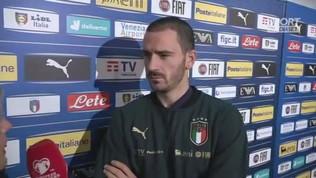 """Bonucci: """"Obiettivo 100 presenze in azzurro"""""""