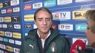"""Mancini """"Grazie per gli elogi, ma dobbiamo migliorare"""""""