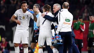 Tolisso-Griezmann rovinano la festa albanese:Francia prima nel girone H