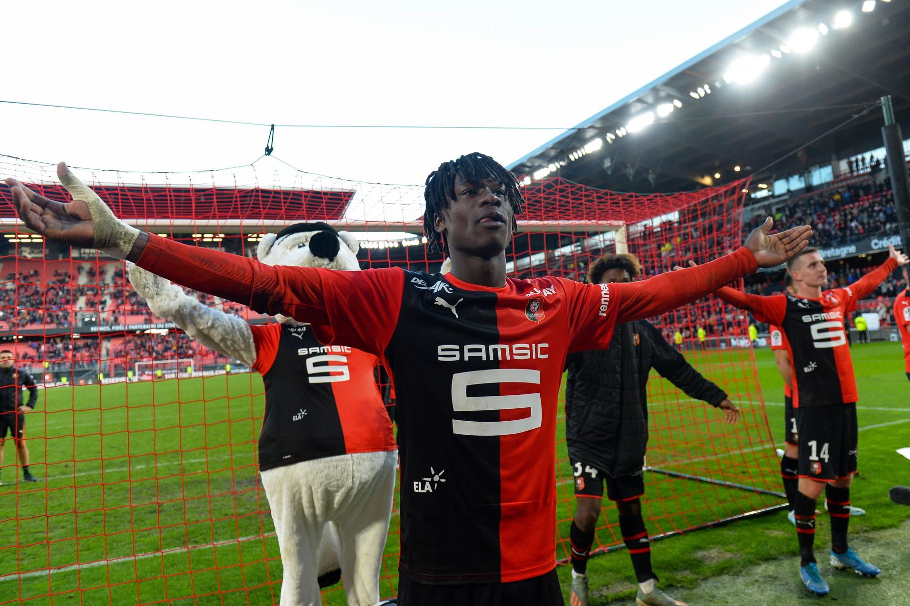 Eduardo Camavinga (Rennes): il centrocampista francese, 17 anni, gioca in prima squadra già dalla scorsa stagione
