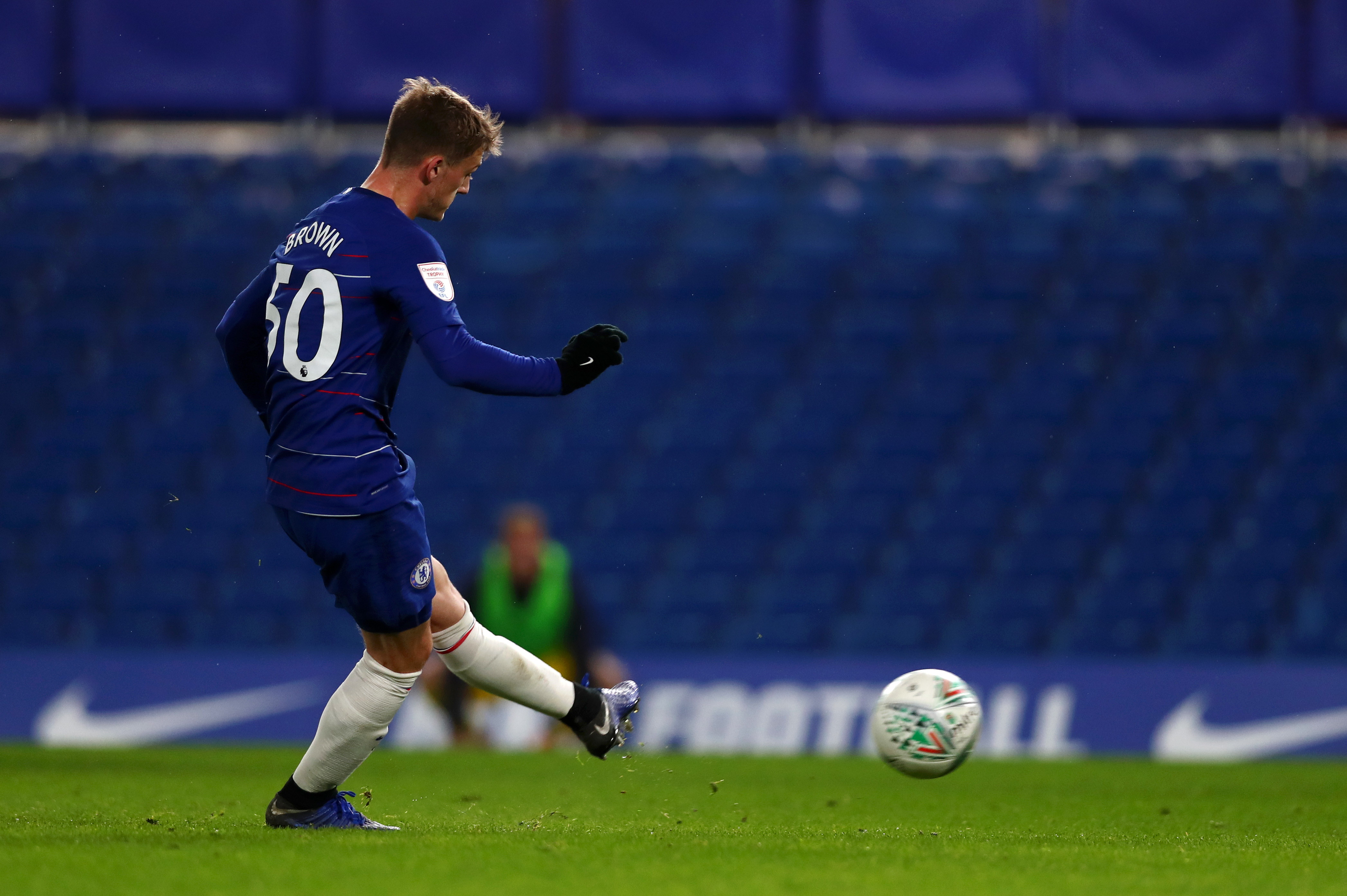 Charlie Brown (Chelsea): 12 gol la scorsa stagione in Youth League, Lampard lo sta premiando quest'anno in prima squadra