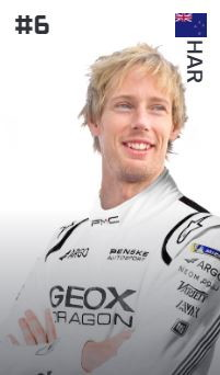 Brendon Hartley (Nuova Zelanda - Geox Dragon)