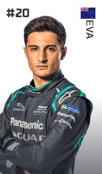 Mitch Evans (Nuova Zelanda - Panasonic Jaguar Racing)