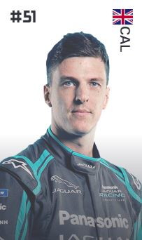 James Calado (Gran Bretagna - Panasonic Jaguar Racing)