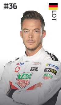 André Lotterer (Germania - Tag Heuer Porsche)
