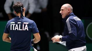 Coppa Davis, giornata amara per l'Italia