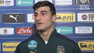 """Italia,""""Orsolini """"Serata fantastica"""""""