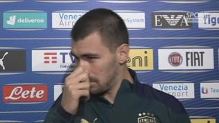 """Italia, Romagnoli: """"Esprimiamo un ottimo calcio"""""""