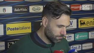 """Italia,""""Sirigu: """"Tornare in questo stadio è stato un piacere grande"""""""