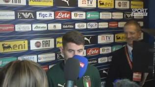 """Italia,""""Jorginho: """"Quello che facciamo piace alla gente"""""""