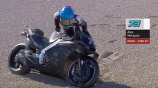 "MotoGP, Alex Marquez parte col ""botto"""