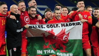 """Galles, golf e Madrid"", Bale provoca il Real in eurovisione"