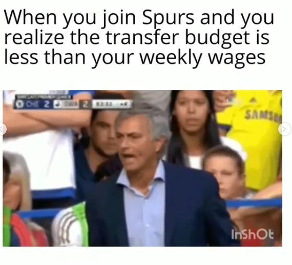 Mou quando scopre che il budget di calciomercato è minore del suo stipendio