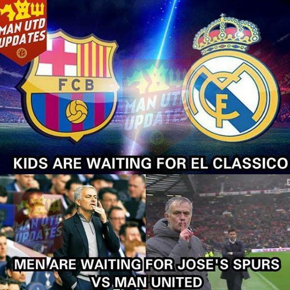 Meglio la sfida di Mourinho all'ex United che il Clasico?
