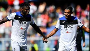 Zapata, super-gol con vista Juve. Muriel preoccupa Gasp