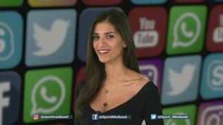 Social Sportmediaset: Balo ammirato dalla Fico, Cutrone fa i numeri in spogliatoio
