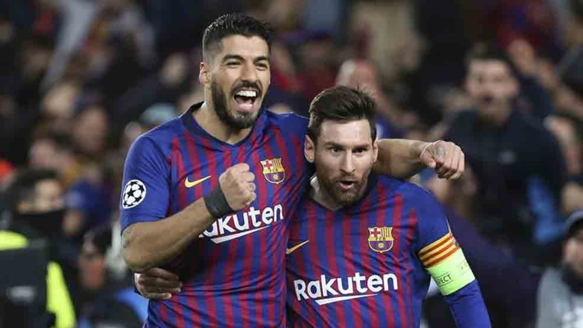 Messi-Suarez (Barça) - 14 gol