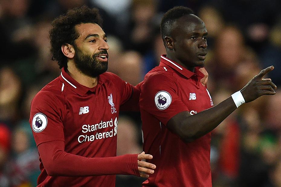 Salah-Mané (Liverpool) - 13 gol