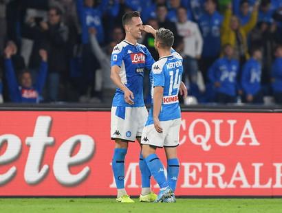 Milik-Mertens (Napoli) - 9 gol
