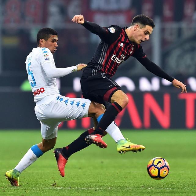 Napoli con Allan, Bonaventura c'è   Juve, Ramsey dal 1'   Inter con Vecino   Balotelli out