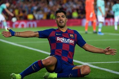 5° centravanti- Luis Suarez (Barcellona)