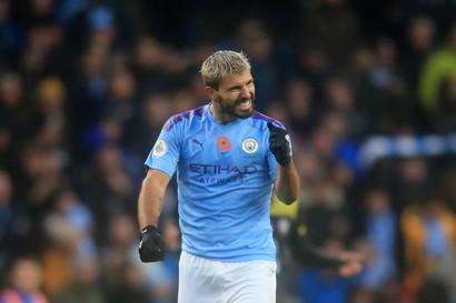 1° centravanti- Sergio Aguero (Manchester City)