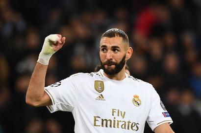 4° centravanti - Karim Benzema (Real Madrid)