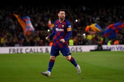 1° attaccante- Messi (Barcellona)