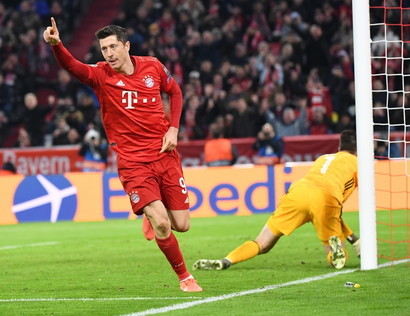 3° centravanti- Robert Lewandowski (Bayern Monaco)