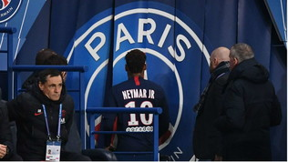 Psg, Neymar come Ronaldo: furioso dopo il cambio