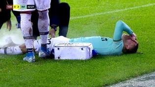 Inter in ansia per Barella: si teme problema serio al ginocchio