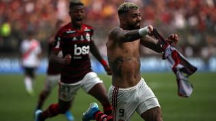 Gabigol eroe, trionfo del Flamengo: la fotogallery