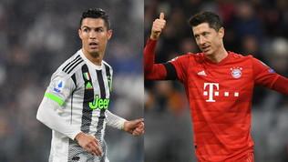 Quarti di finale: Cristiano Ronaldobatte Lewandowski