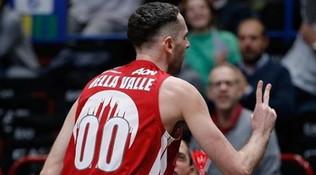Basket, Serie A: Brindisi seconda da sola, Brescia terza con Milano e Fortitudo