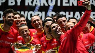 Davis, Nadal porta in trionfo la Spagna