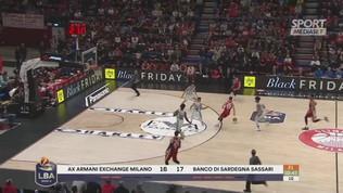Milano da urlo nel finale, Sassari battuta. Brindisi seconda