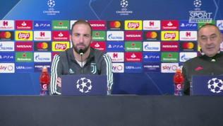 """Higuain: """"Convinto a restare alla Juve dall'accoglienza"""""""