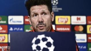 """Simeone: """"Non sarà Atletico contro Ronaldo, a Torino per fare una grande gara"""""""
