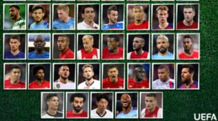 Ronaldo, De Ligt, Koulibaly e Ruiz per la squadra 2019 Uefa