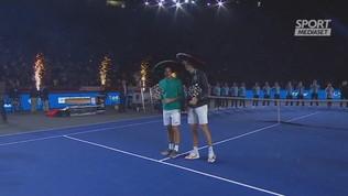 Città del Messico, in 40mila per Federer-Zverev
