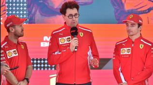 """Ferrari, Binotto: """"Il secondo posto non sarà mai abbastanza"""""""