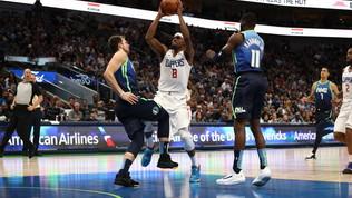 Basket, Nba: i Clippers fermano Doncic, Denver batte Washington