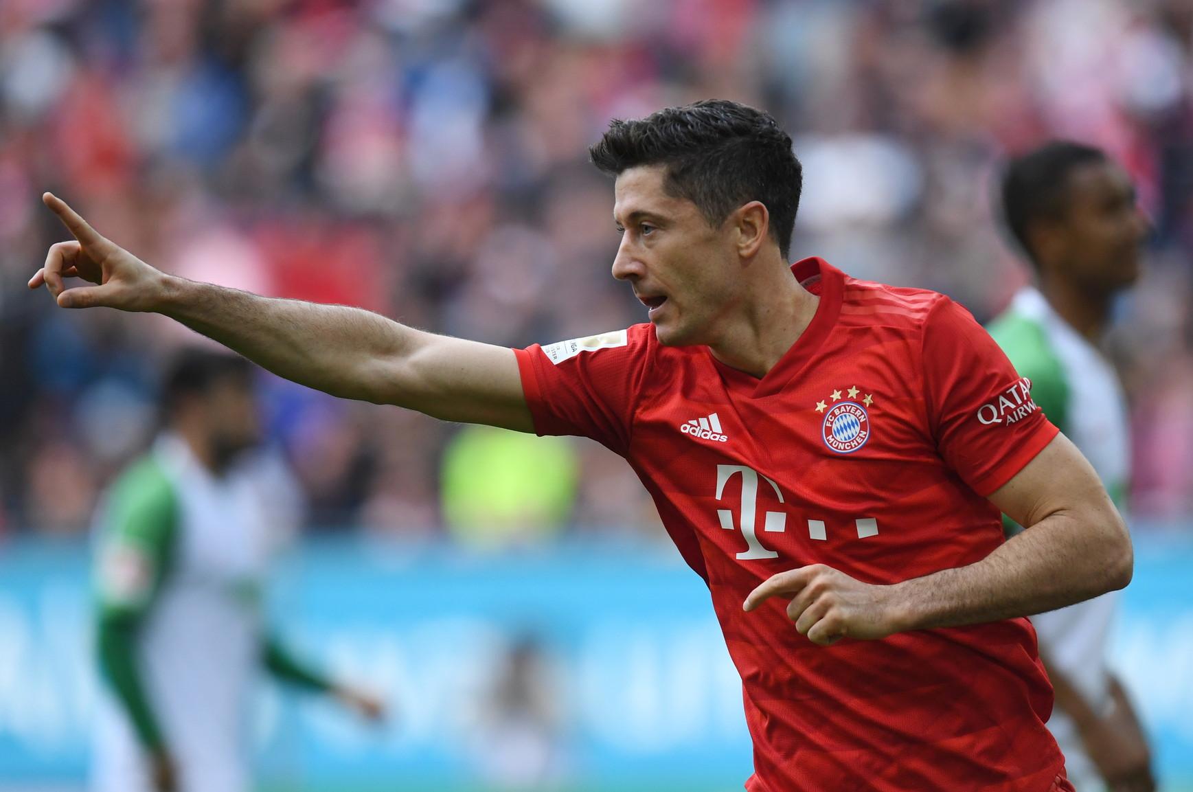 Lewandowski è a quota 27 gol in 20 partite con la maglia del Bayern Monaco in questo scorcio di stagione