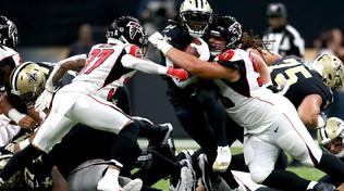 Falcons-Saints, la NFL torna su Mediaset