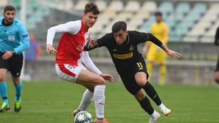 YouthLeague, Slavia-PragaInter 4-1
